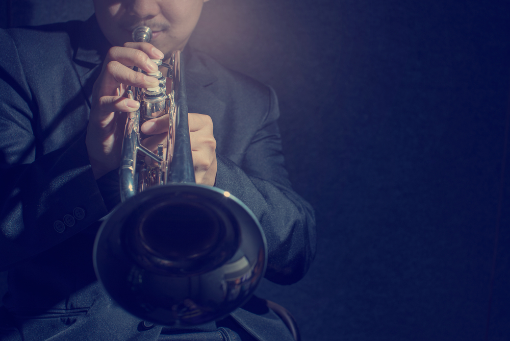 Blow trumpet make noise Shutterstock Strong Fit Well