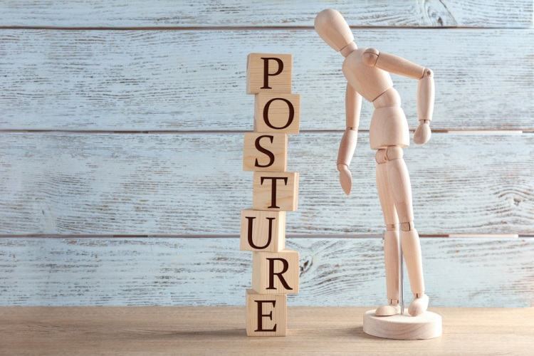 Posture figure model Shutterstock Strong Fit Well