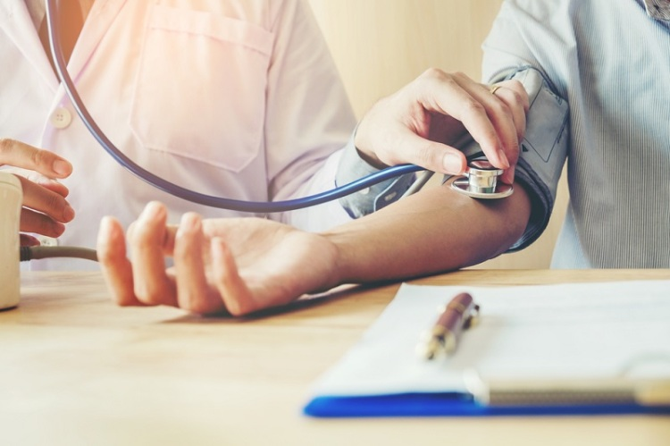 Blood pressure hypertension Shutterstock Strong Fit Well