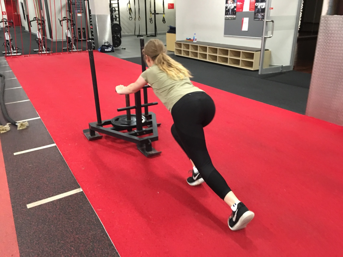 Maddie Sled Push Strong Fit Well