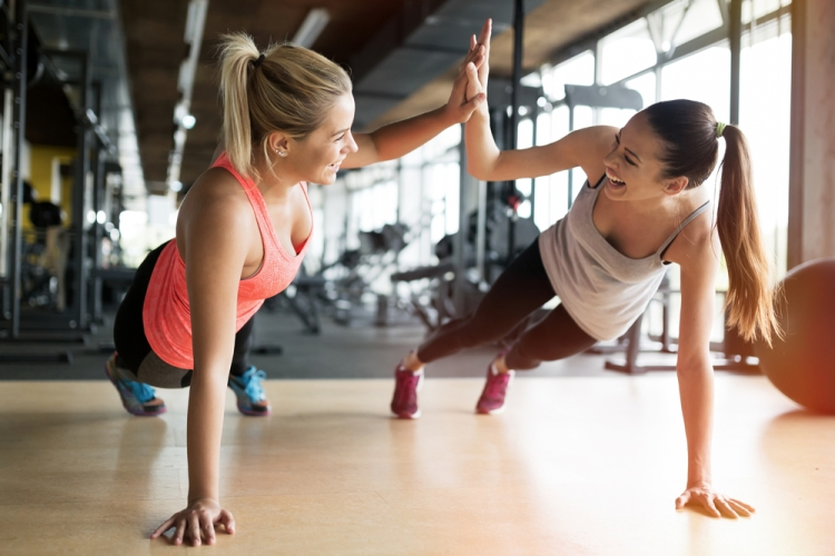 Why you need a workout buddy Strong Fit Well