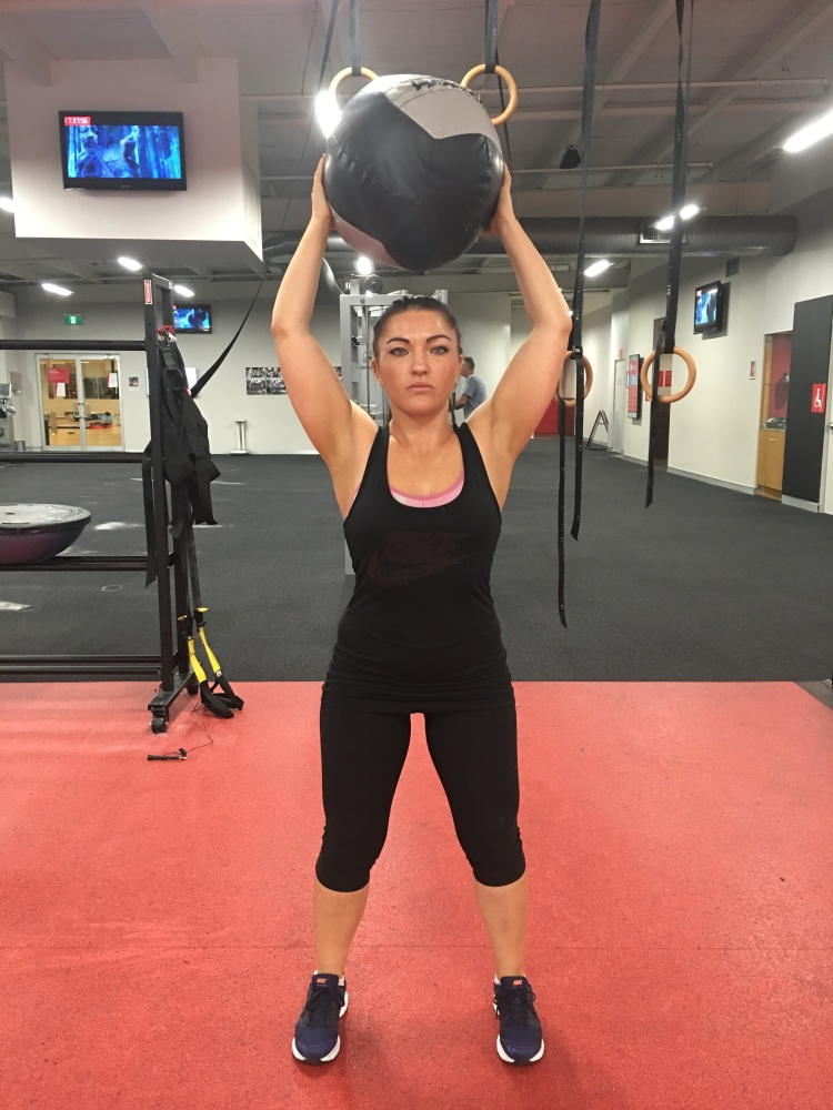 Suzanne ball slam Strong Fit Well