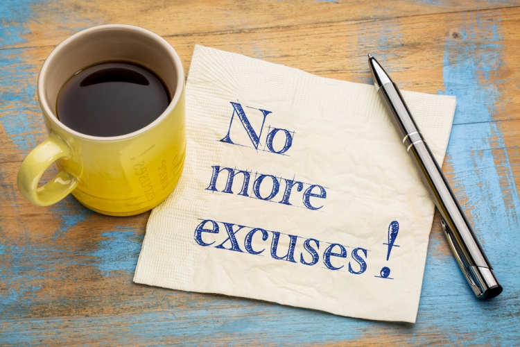 No more excuses Shutterstock Strong Fit Well