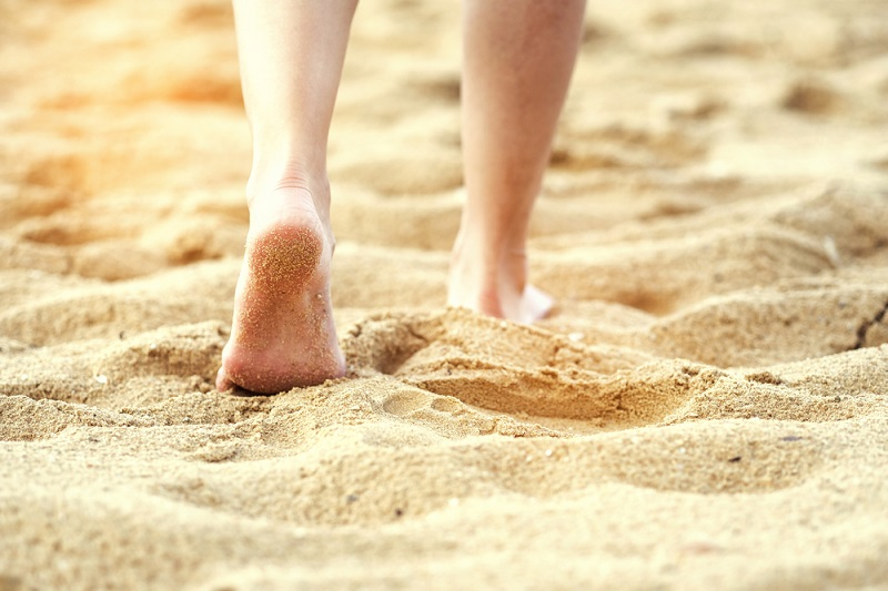 sand walking shutterstock strong fit well