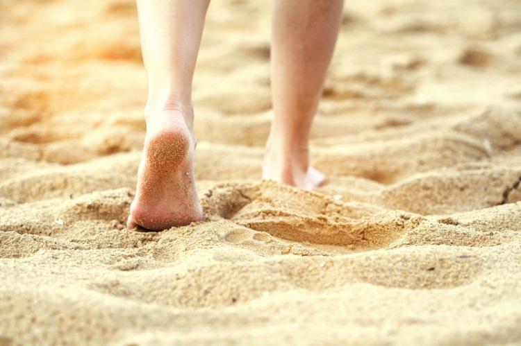 sand walking shutterstock strong fit well