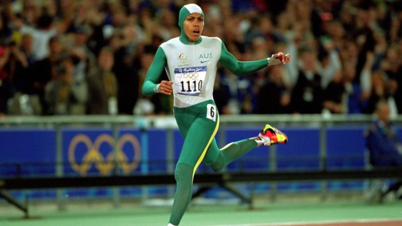 Cathy Freeman Olympics Strong Fit Well