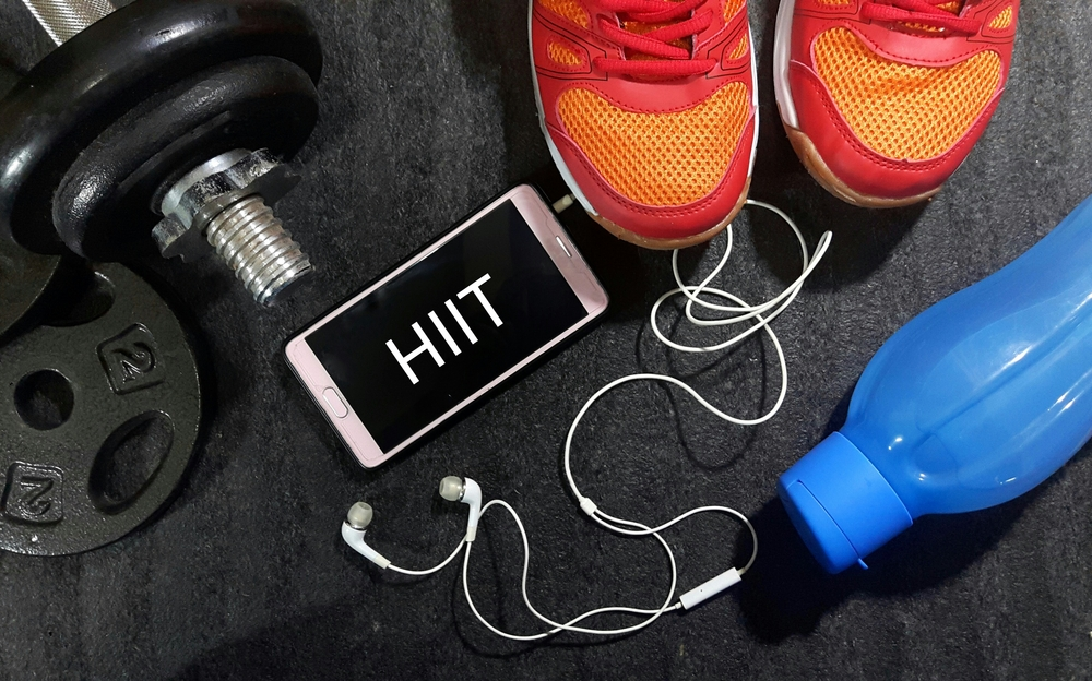 HIIT workout training Shutterstock Strong Fit Well