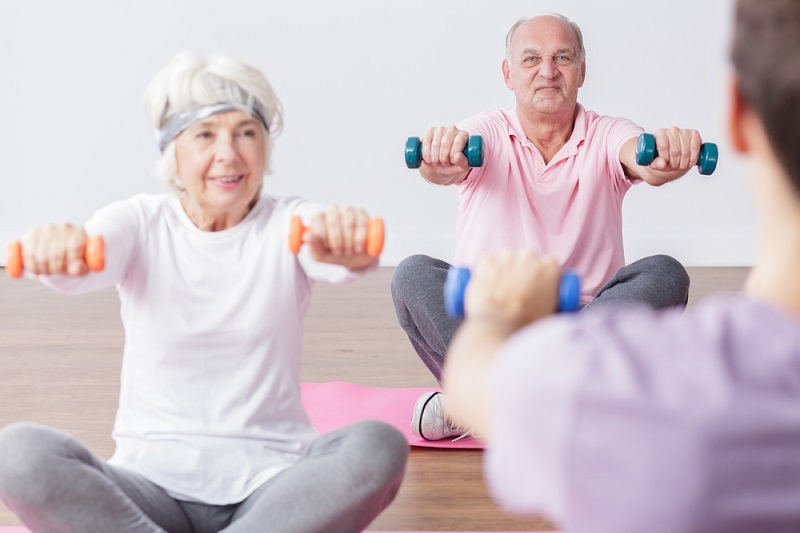 older adults exercise class shutterstock strong fit well