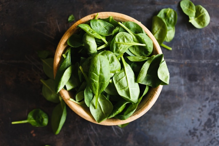 Spinach Strong Fit Well