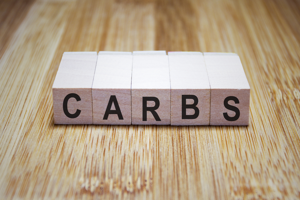 carbs sign blocks shutterstock strong fit well