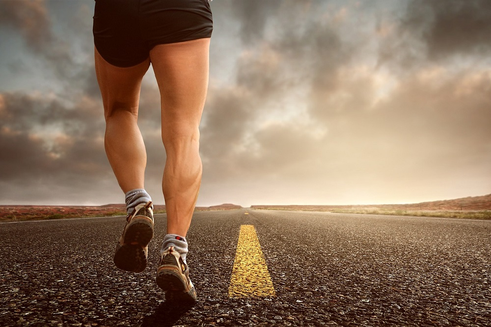 Jogging man Pixabay Strong Fit Well